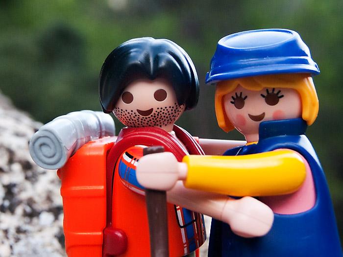 Playclicks, Playmobil , Lego, Beceite,Beseit,parrizal, Matarraña, abrazo