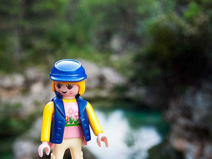 Playclicks, Playmobil , Lego, Beceite,Beseit,parrizal, Matarraña,toll, pozo, puente mas de lluvia